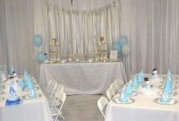 Glamorous White_Blue Winter Wonderland Birthday Party Decor | Sf Bay Area throughout Winter Wonderland Party Decor