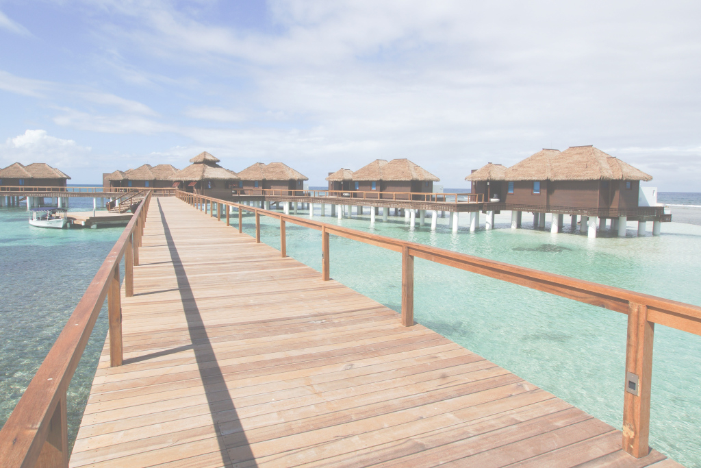 Glamorous Why The Caribbean's First Overwater Bungalows Were 50 Years In The throughout Hawaii Overwater Bungalows