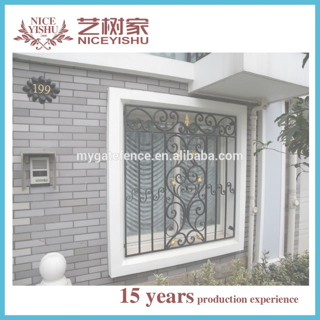 Glamorous Wrought Iron Window Grill Design For Safety,new Sliding Window Iron in Grill Design For Window
