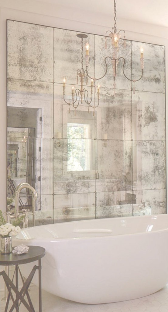 Inspirational 10 Fabulous Mirror Ideas To Inspire Luxury Bathroom Designs in Bathroom Mirror Ideas On Wall