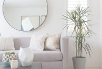 Inspirational 120+ Apartment Decorating Ideas | Pinterest | Round Mirrors throughout Simple Living Room