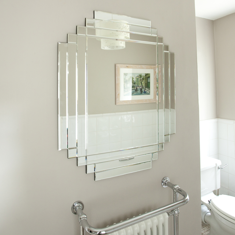 Inside Review Art Deco Bathroom Mirror