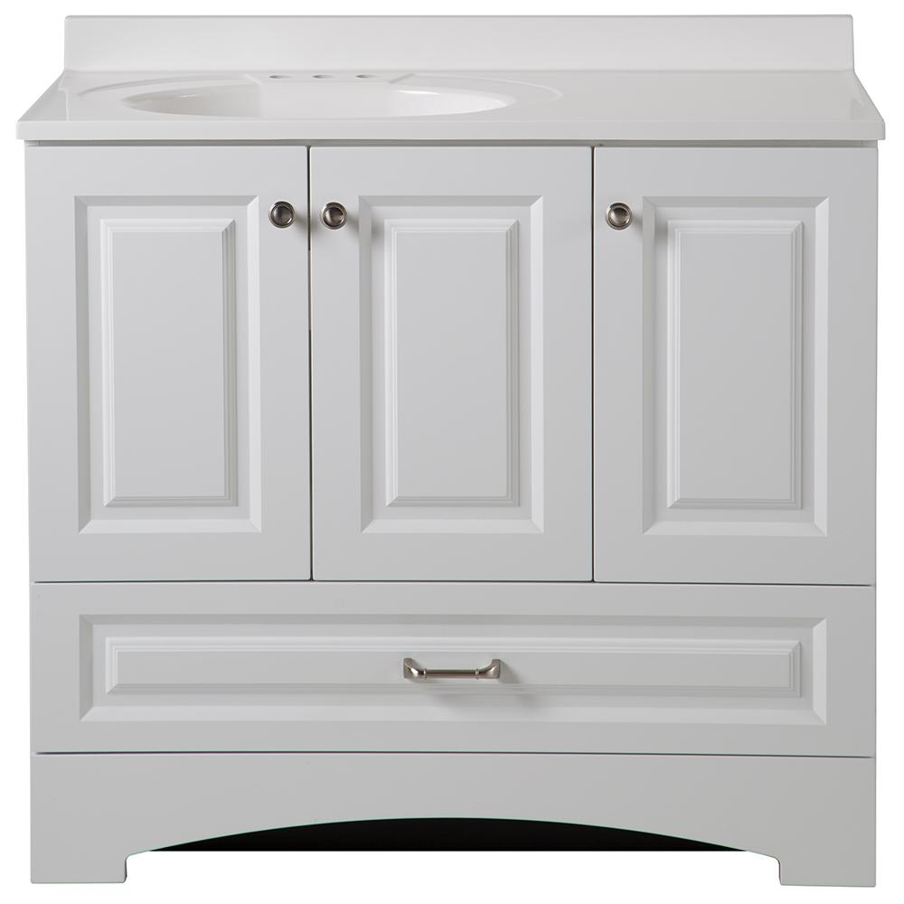 Inspirational 36 Inch Bathroom Vanity With Top Throughout Glacier Bay Vanities for Awesome 36 In Bathroom Vanity With Top