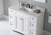 Inspirational 42 Inch Bathroom Vanity Combo Stone Effects Carrera Vanity Top throughout Beautiful 42 Inch Bathroom Vanity Combo