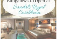 Inspirational 5 Overwater Bungalows To Open At Sandals Royal Caribbean | Pinterest inside Set Overwater Bungalows Jamaica