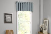 Inspirational 6 Window Valance Styles That Look Great In Any Living Room with Living Room Curtains With Valance