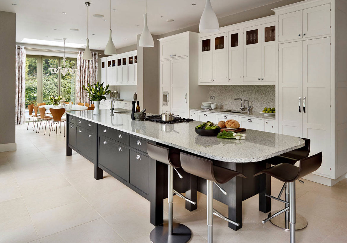 Inspirational 70 Spectacular Custom Kitchen Island Ideas | Home Remodeling pertaining to Kitchen Layouts With Island