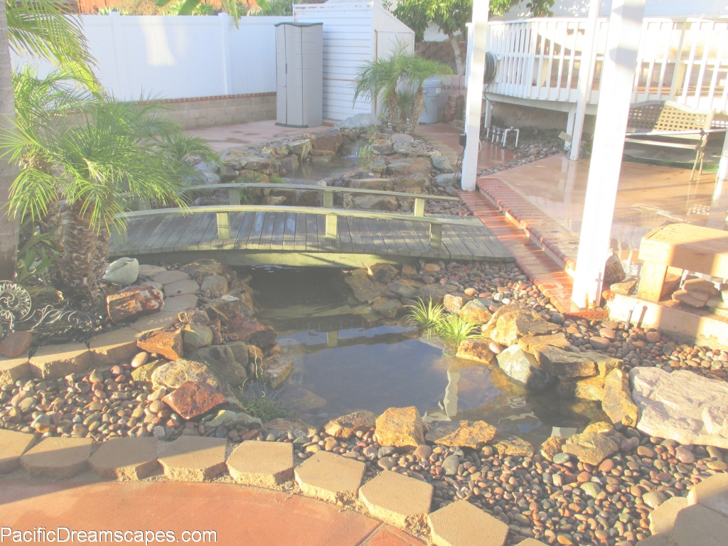 Inspirational Aerating Your Backyard Fish Pond Water - Pacific Dreamscapes regarding Inspirational Backyard Builders