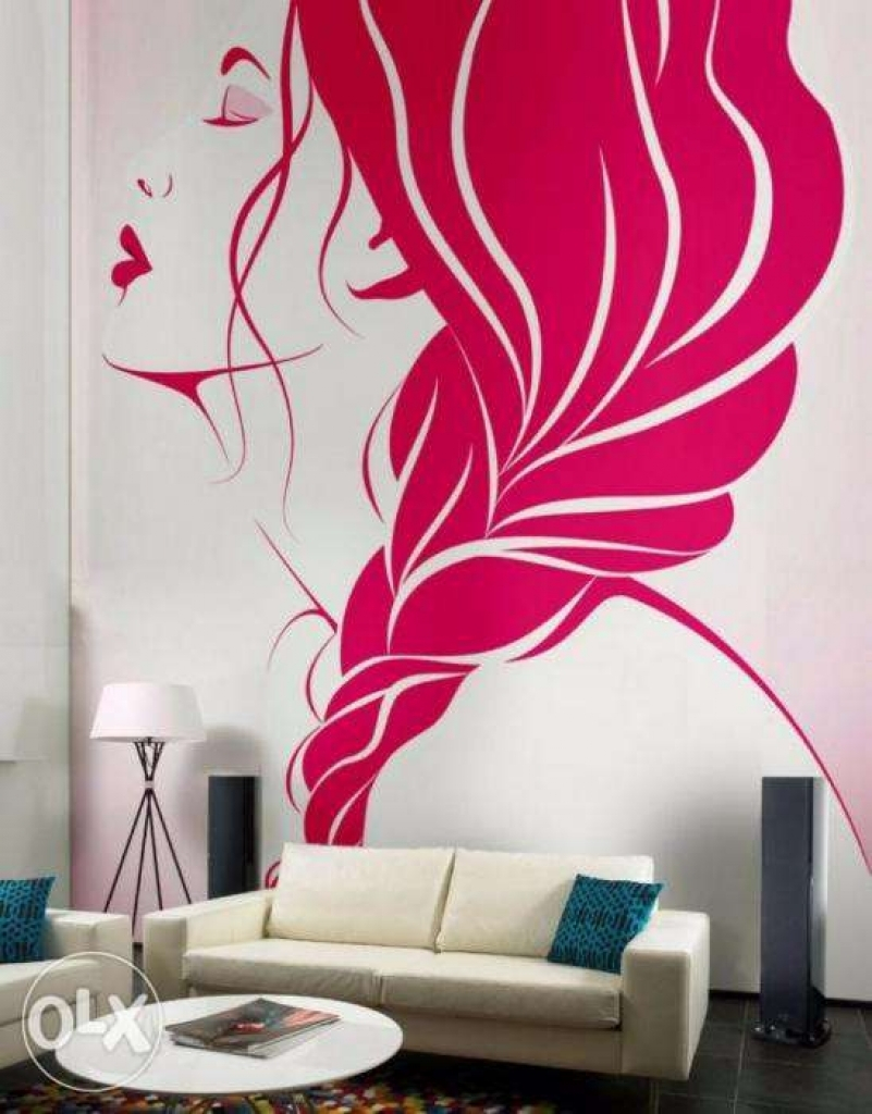 Inspirational Alluring Contemporary Wall Painting Ideas 0 Images About Bedroom intended for Diy Wall Painting Ideas