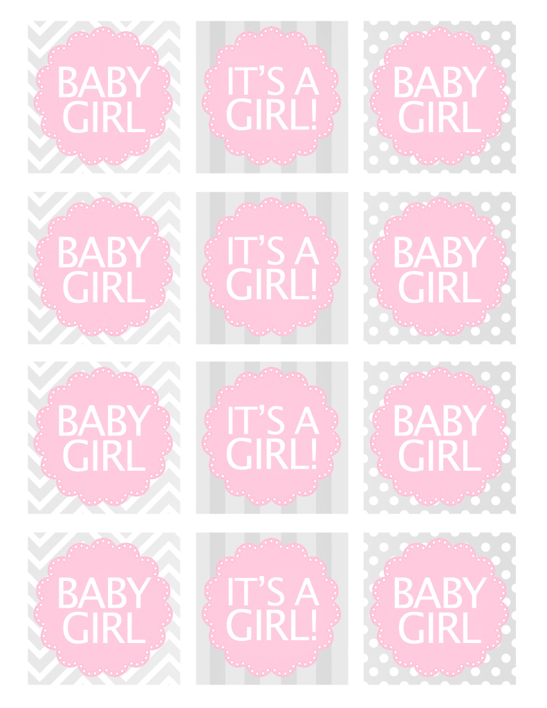 Inspirational Baby Girl Shower Free Printables - How To Nest For Less™ regarding High Quality Free Printable Baby Shower