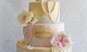 Inspirational Baby Shower Cake With Vintage Baby Carriage | Vintage Baby Shower pertaining to Vintage Baby Shower Cakes