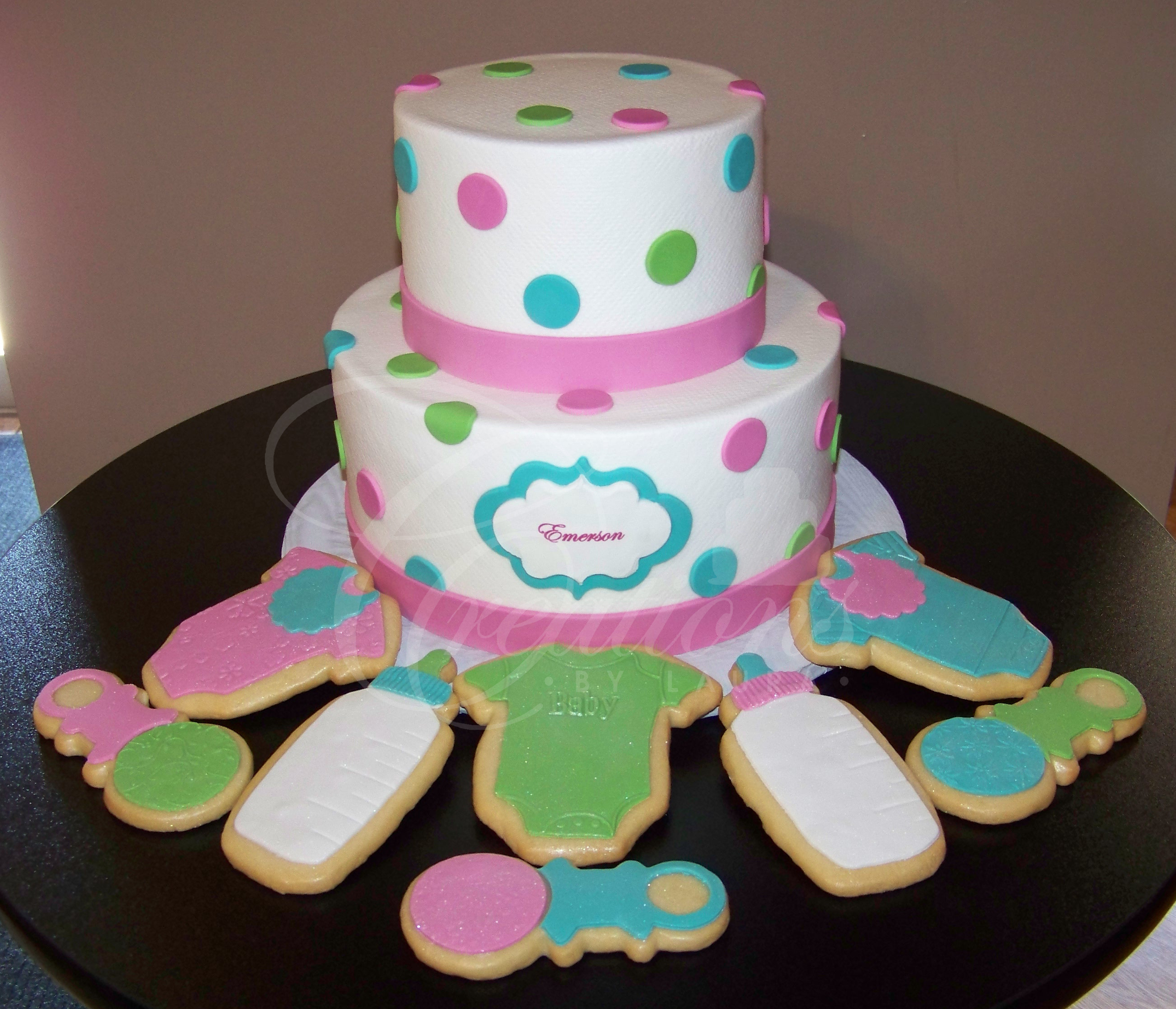 Inspirational Baby Shower Cakes | Creationslaura pertaining to Beautiful Blue And Green Baby Shower