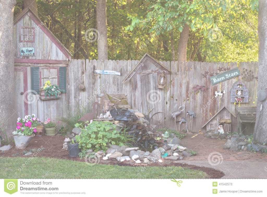 Inspirational Backyard Country Stock Image. Image Of Grey, Wood, Grass - 41542573 within Country Backyard