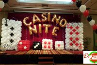 Inspirational Balloon Decorations For Weddings, Birthday Parties, Balloon for Awesome Casino Theme Party Decorations