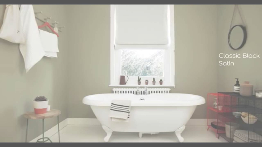 Inspirational Bathroom Ideas: Using Olive Green - Dulux - Youtube for Awesome Bathroom Paint Color Ideas