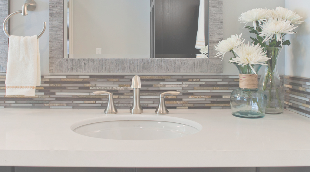 Inspirational Bathroom Sink Backsplash – Savary Homes pertaining to Bathroom Sink Backsplash