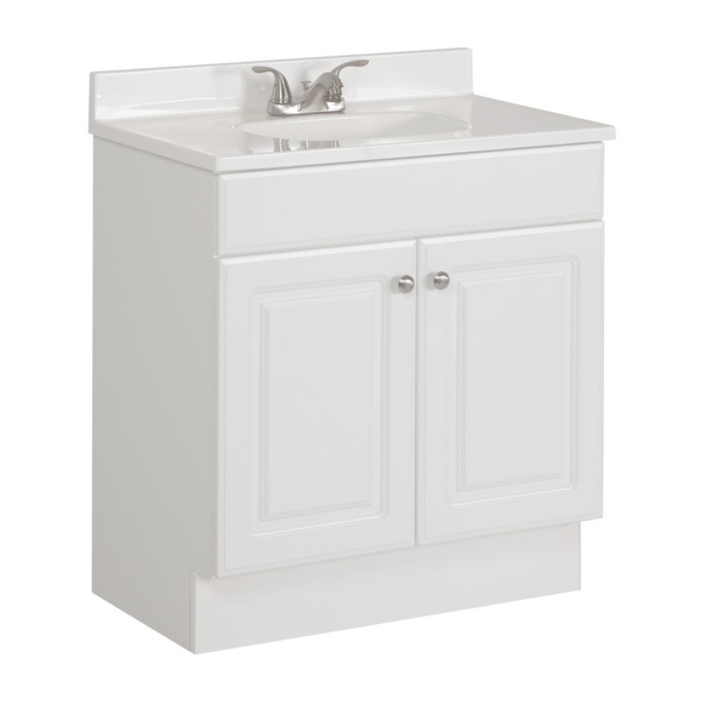 Inspirational Bathroom Sink : Bathroom Vanity Unit With Sink On Top With Bathroom intended for White Bathroom Vanity With Top