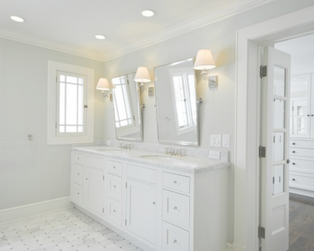 Inspirational Bathroom-Vanity-Marble-Countertop-Rectangular-Pivot-Mirrors-Gorgeous with regard to Set Mirror Bathroom Vanity