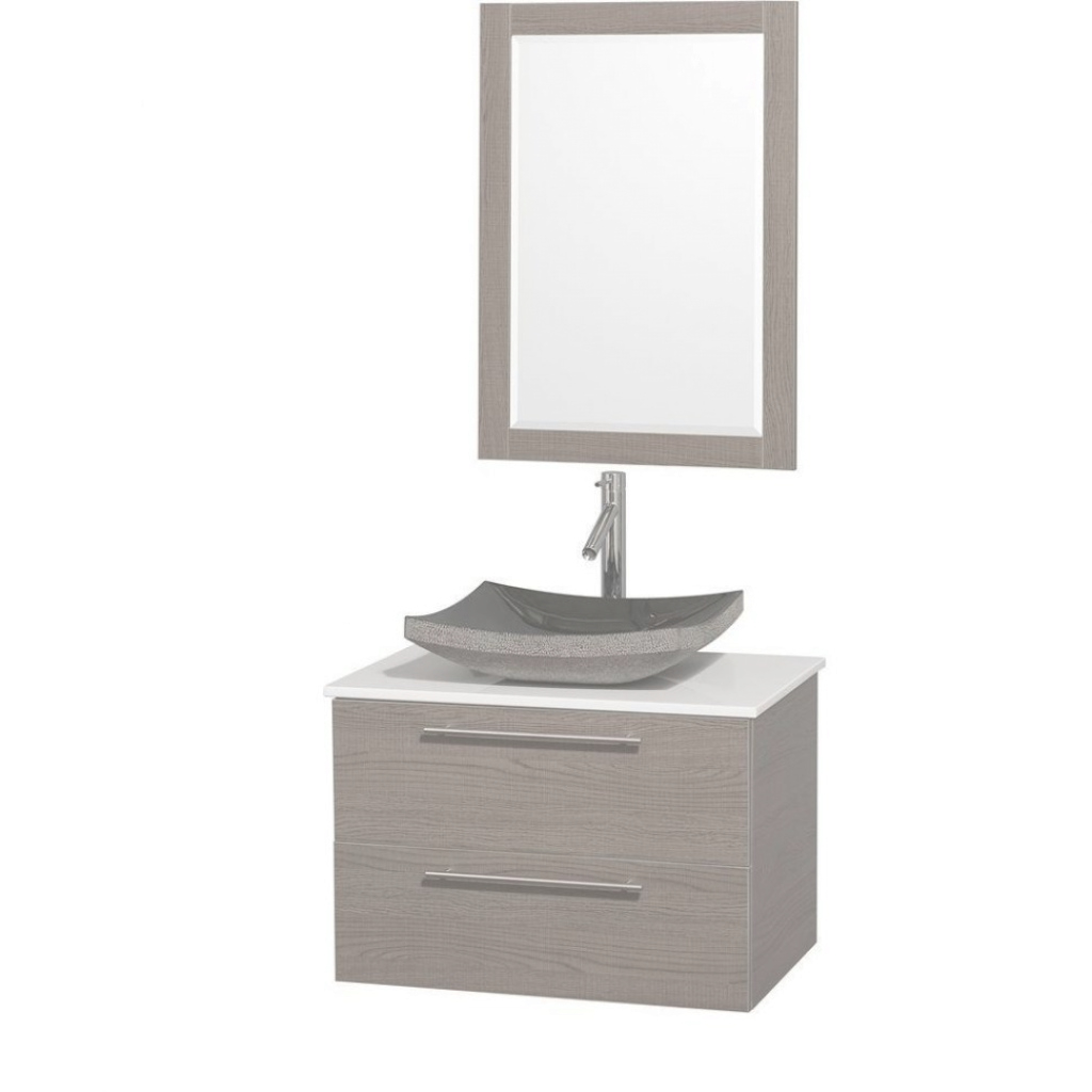 Inspirational Bathroom Vanity : Sheffield Home Floating Vanity Small Sink Cabinet inside Bathroom Vanities Small