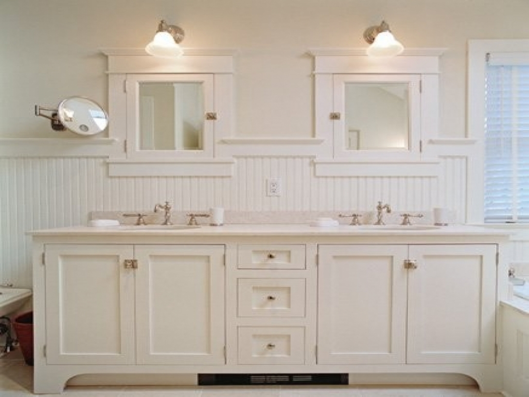 Inspirational Bathrooms With Beadboard, Cottage Bathrooms Beadboard White In throughout Bathrooms With Beadboard