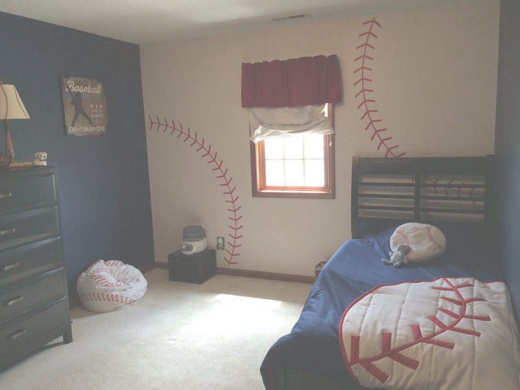 Inspirational Beautiful Boys Baseball Bedroom Ideas: 15 Inspirated Photos for Awesome Sports Themed Bedroom Decor