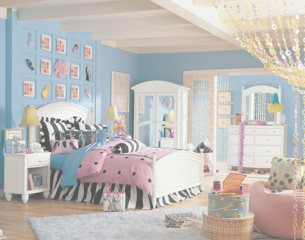 Inspirational Bedroom : Teenage Girl Bedroom Color Schemes Marvelous Colour Blue in Perfect Teenage Bedroom
