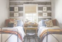 Inspirational Bedroom With Two Beds. Idea For A Shared Bedroom. Desk Between The in Small Shared Bedroom