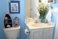 Inspirational Blue Bathrooms Contemporary White Wall Mounted Shelves Black in Fresh Light Blue Bathroom Accessories