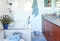 Inspirational Blue Master Bath Designed For Tranquility | Hgtv intended for Blue Bathroom Photos