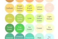 Inspirational Bright Spring Color Palette With Names | Fashion Forward | Pinterest in Best of Color Palette Names