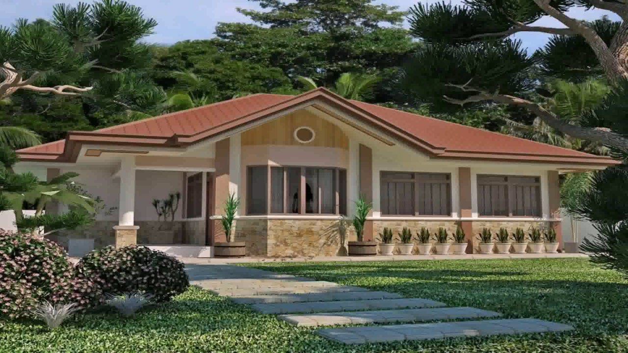 Inspirational Bungalow House Style In Philippines - Youtube inside Elegant Bungalow House Style