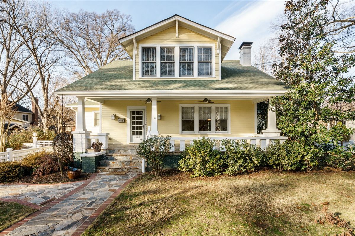 Inspirational Charming 1929 Bungalow Restored To Perfection | North Carolina intended for Review Bungalow Homes For Sale