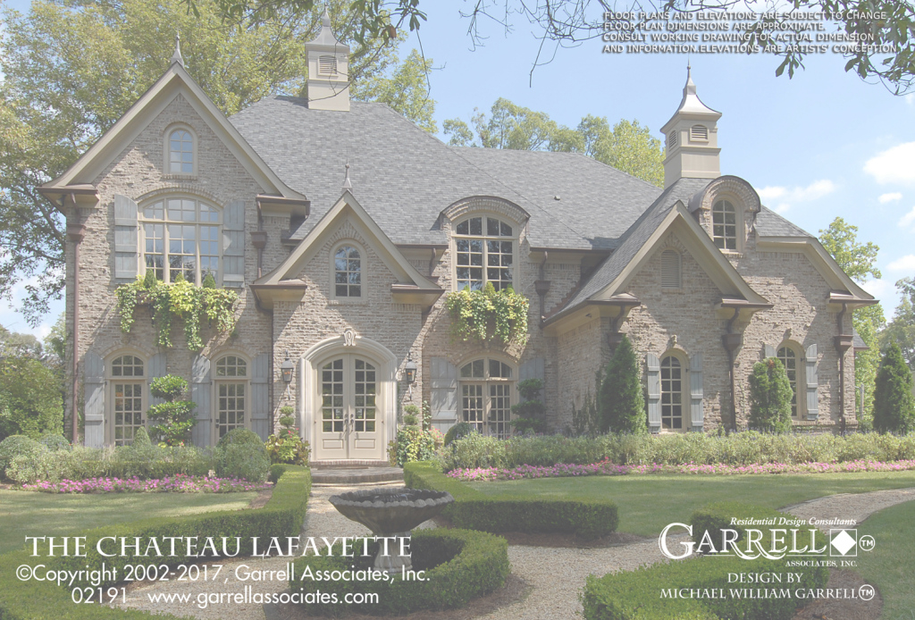 Inspirational Chateau Lafayette House Plan | House Plansgarrell Associates, Inc. within Chateau Lafayette House Plan Pictures