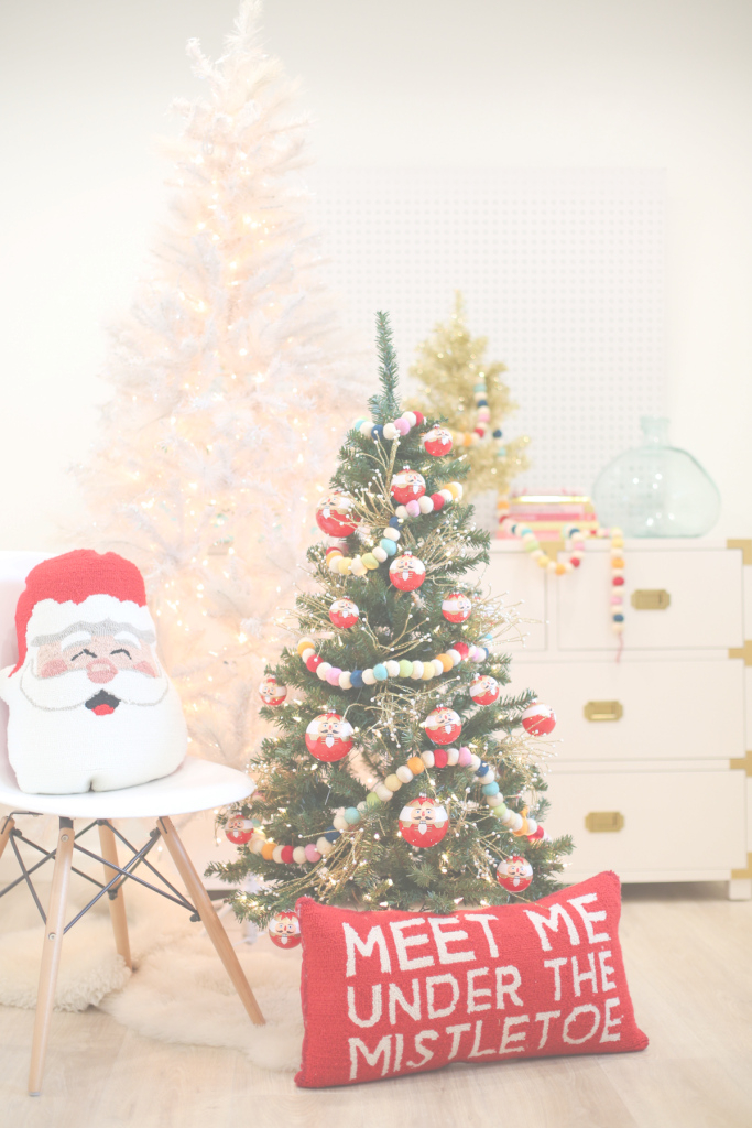 Inspirational Christmas Decoration Idea: A Mini Tree In The Kids' Room | Lovely Indeed within Christmas Decoration Themes