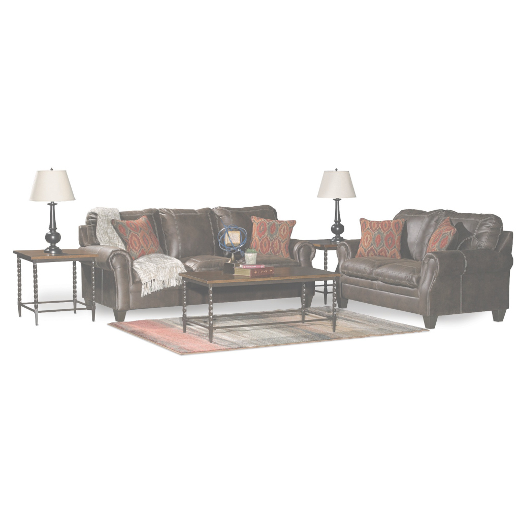 Inspirational Classic Traditional Brown 7 Piece Living Room Set - Shiloh | Rc with 7 Piece Living Room Set