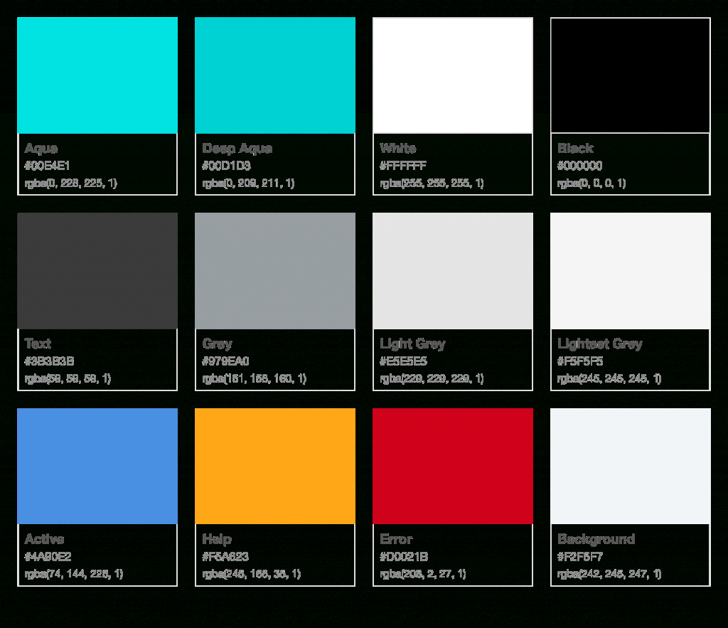 Inspirational Color Palette | Legalos V1 | Zeplin Scene in 32 Color Palette