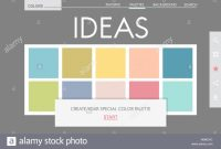 Inspirational Colour Palette Design Stock Photos & Colour Palette Design Stock with Color Palette Maker