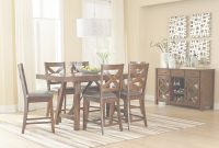Inspirational Counter Height 7 Piece Table Set With Bar Stoolsstandard regarding Standard Dining Room Table Height