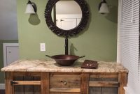 Inspirational Custom Barnwood Vanity | Blue Housekim Mcmillian | Pinterest pertaining to Barnwood Bathroom Vanity
