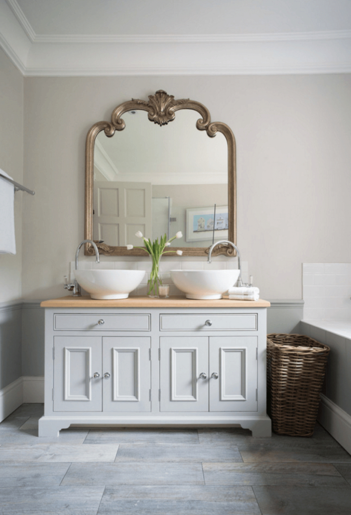Inspirational Design Bathroom. Mirror Plans To Reflect Your Way: Mirror Plans To within Gold Bathroom Mirror