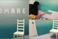 Inspirational Diy: Ombre Wall | How To Paint & Tips! – Youtube for Diy Wall Painting Ideas