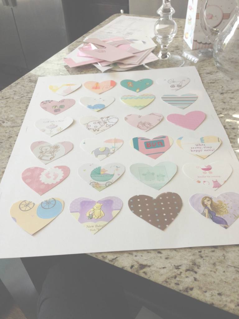 Inspirational Diy: Transform Your Baby Shower Cards Into Nursery Art! - Veronika's within Things To Do At A Baby Shower