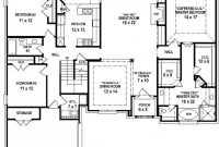 Inspirational Floor Plans 4 Bedroom 3 Bath (Photos And Video) | Wylielauderhouse for 3 4 Bathroom Floor Plans