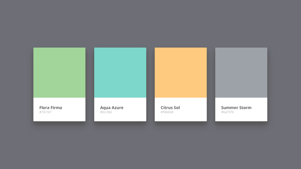 Inspirational For The Love Of Color - Traction intended for Branding Color Schemes
