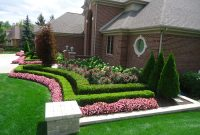 Inspirational Front Yard Curb Appeal Landscaping Front Yard Landscape Design From with regard to Inspirational Landscape Design Front Yard