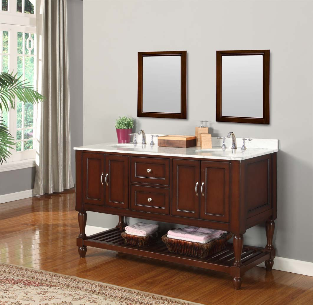 Inspirational Furniture Style Bathroom Vanities Mesmerizing Design Mission Turnleg intended for Best of Furniture Style Bathroom Vanities