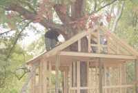 Inspirational Gigantic Simple Tree House Plans Treehouse | Www inside Inspirational Easy Treehouse Plans Free