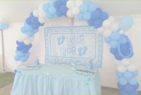 Inspirational Globos Para Baby Shower Niño Great Balloon Decorations For A Girl for Decoracion De Baby Shower De Niño