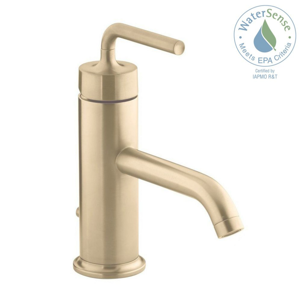 Inspirational Gold - Bathroom Faucets - Bath - The Home Depot for Antique Gold Bathroom Faucets