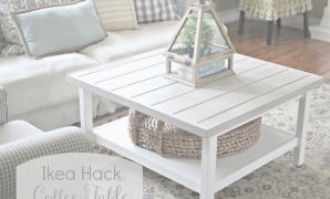 Inspirational Golden Boys And Me: Coffee Table (Ikea Hack) for Set Ikea Coffee Table Hack